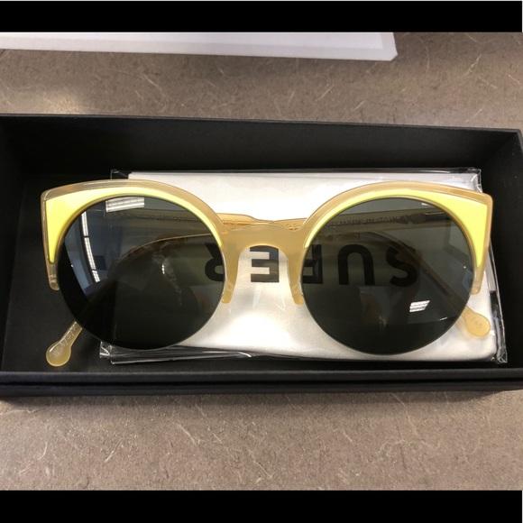 a609ee5835d0 Retrosuperfuture Lucia Surface Cat Eye Sunglasses